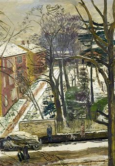 """""""Snow, Putney"""" by Carel Weight, R.A."""