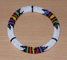 African Zulu bracelet - Bracelet africain zoulou (Timeless Fineries)