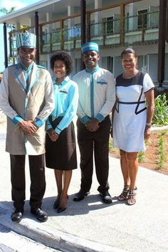 David peck uniforms for jw marriott employees peck of for Spa uniform suppliers south africa