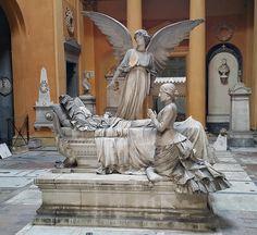 **Certosa di Bologna (cemetery, sculptures) - Bologna