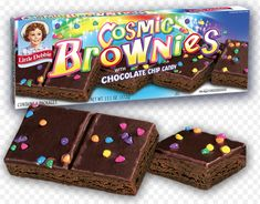 a copycat recipe of the Little Debbie snack, Cosmic Brownies! Chocolates, Cosmic Brownies, Fun Dip, Junk Food Snacks, Yogurt Smoothies, Foods To Avoid, Potato Chips, Snack Recipes, Yummy Food