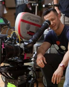 Joseph Gordon-Levitt #celeb behind #camera