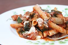 Penne with Sausage,