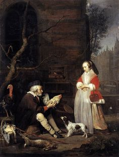 33 color paintings of gabriel metsu dutch baroque painter january october 24 Manual