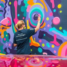 A cool snap by @instagrafite of my wall in progress for @pangeaseed,@seawalls_ last week in Napier. Full walls are getting released on their pages so go follow because they are all amazing and sharing important messages. Also check out @aai_nz #seawallsnz #pangeaseed #paintforapurpose #plasticpolution #artivism #saveourseas #seahorse #mtn94 #napier #streetart