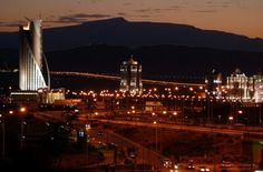 2011. May. Turkmenistan. Ashgabat at night. I Miss.