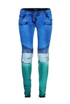 Multicolor: Jeans von Balmain, um 1500 Euro