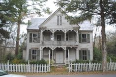 Wow!  And only $55,000.  These houses are cheap because they need to be restored historically accurate, but isn't this just the most beautiful  house you've ever seen?!