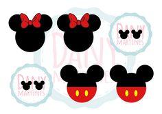 """Marcador de Páginas """"Mickey e Minnie"""", asssista o tutorial: https://www.youtube.com/watch?v=LTB2ZExvuIo"""
