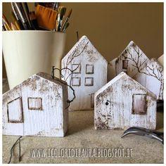 Bomboniere little house con materiale di riciclo per un matrimonioshabby | I…