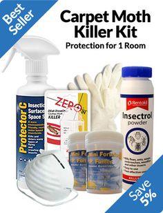 Carpet Moth Killer Kit - 1 Room Treatment