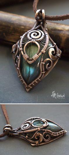 Artifact pendant // fantasy pendant