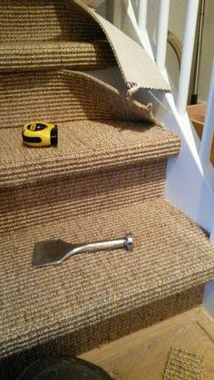Carpet Runners With Rubber Backing Carpet Staircase, Hallway Carpet, Natural Area Rugs, Natural Rug, Sisal Carpet, North Carolina Homes, Living Room Carpet, Carpet Colors, Carpet Design