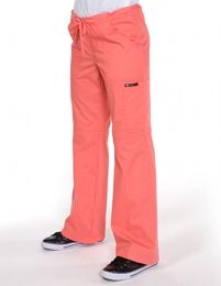 Ecko Tifanny Trousers (Rose)WAS £29.99 NOW £9.99- flared-leg (bootleg) trousers ,drawstring waist (semi-elastic back), two hip pockets and discrete leg pockets., 60% cotton 40% polyester soft poplin. In sizes XS-XXXL. * FIND US on www.happythreads.co.uk * #dental #uniforms #nurse #female #scrubs#trousers #sale #pants #healthcare #ecko #tiffany #happythreads