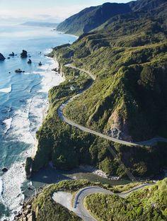 Les routes les plus spectaculaires au monde - Pacific Coast Highway Californie