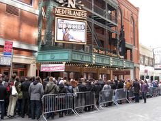 So thrilled I got to see this Musical and didn't have to do this: Newsies Broadway Lottery