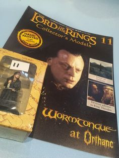 Collectors Hand Painted Lead Model Magazine LOTR Eaglemoss 11 Wormtongue Opthane in Collectables, Fantasy/ Myth/ Magic, Lord of the Rings/ Tolkien   eBay