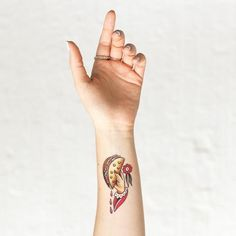 What's better than a taco to go? This Taco To Go Tattly designed by professional tattoo artist Jessi Preston!