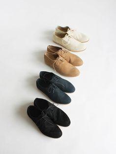 nubuck slip-on shoes