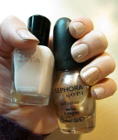 Zoya Kennedy + Sephora by OPI Chesnuts About You (accent nail)