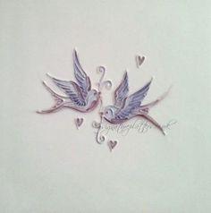 Birds Purple