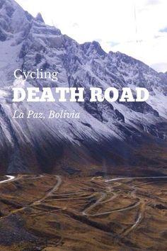 cycling the Death Road in La Paz, Brasil #isadoreapparel #roadisthewayoflife #cyclingmemories
