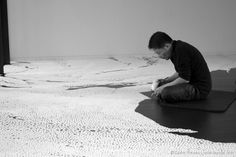 Return To The Origin: A New Salt Sculpture by Motoi Yamamoto in Tokyo Tokyo, Japanese Artists, Yamamoto, Les Oeuvres, Im Not Perfect, Cool Designs, Salt, Sculpture, The Originals