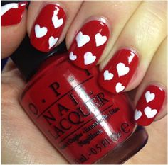 Nail Art for #Valentines Day