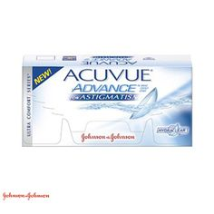 Lentes de Contacto Acuvue Advance for Astigmatism da Johnson & Johnson  25$