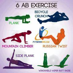 6 AB Excercises
