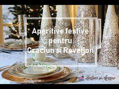 Idei de aperitive festive pentru Craciun si Revelion.Mancaruri traditionale romanesti.Aperitive simple si usor de facut.Idei deosebite de aperitive festive. Best Appetizers, Candles, Candy, Candle Sticks, Candle
