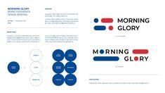 모닝글로리 BX디자인 리뉴얼컨셉 Ver 2.0 - 브랜딩/편집 · UI/UX, 브랜딩/편집, UI/UX, 그래픽 디자인, 브랜딩/편집 Ppt Design, Graphic Design Branding, Logo Branding, Logo Design, Fs Logo, Web Project, Ui Web, Social Media Template, Visual Identity