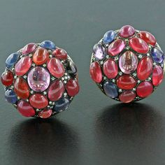 Spinel earrings, by Taffin, James de Givenchy.