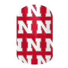 University of Nebraska nail art www.reneekatzer.jamberrynails.ner