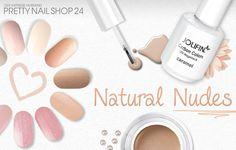 #nude #nails #nailart #natural Zarte, natürliche Nude-Töne passen immer und sind traumhaft schön und feminin. Sind diese Nuancen auch etwas für Euch? Eure Juliane