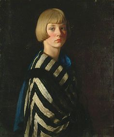 Mary Ginnett by Louis Ginnett Ditchling Museum of Art and Craft Oil on canvas, 77 x 64 cm