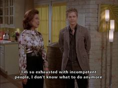 Can it be so? Sometimes I think Emily Gilmore does actually say it best ...