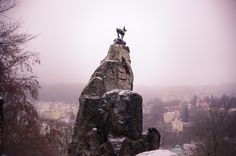 Jeleni Skok, or Deer-Leap Lookout in Karlovy Vary