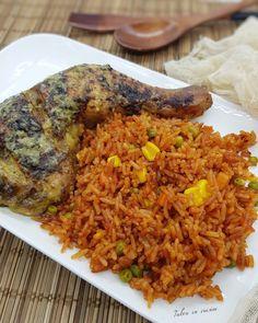 Healthy Summer Recipes, Super Healthy Recipes, Healthy Cooking, Cooking Recipes, Healthy Lunches, Riz Wolof, Senegalese Recipe, Homemade Lemonade Recipes, West African Food