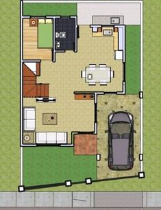 With Roofdeck 2 - House Designer and Builder 2 Story House Design, Duplex House Design, Small House Design, Modern House Design, Philippines House Design, Philippine Houses, Construction Contract, 2 Storey House, Latest House Designs