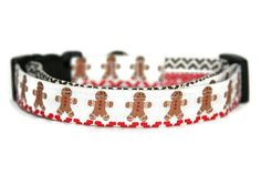 Shop for on Etsy, the place to express your creativity through the buying and selling of handmade and vintage goods. Handmade Dog Collars, Handmade Gifts, Christmas Dog, Gingerbread Man, Beaded Bracelets, Trending Outfits, Unique Jewelry, Dogs, Vintage