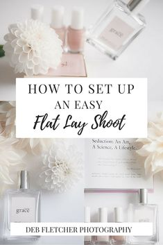 How to set up an easy flat lay photography shoot using basic props Flat Lay Photography, Photography Business, Light Photography, Photography Tips, All Themes, Photographic Studio, Place Card Holders, Social Media, Facebook