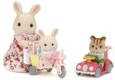 Sylvanian Families tricycle-car Settoka 216