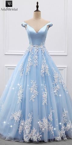 Marvelous Satin & Tulle Off-the-shoulder Neckline A-line Evening Dresses With Beaded Lace Appliques Senior Prom Dresses, Tulle Prom Dress, Pageant Dresses, Quinceanera Dresses, Ball Dresses, Ball Gowns, Quinceanera Ideas, Chiffon Dresses, Bridesmaid Dresses