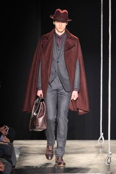 John Varvatos Fall/Winter 2013 - Fashion heroes need capes