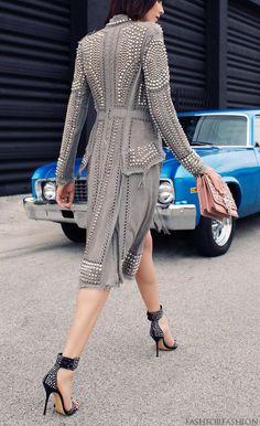 Seriously amazing coat....Andressa Fontana