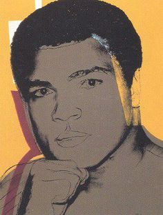 Andy Warhol, Muhammad Ali [II.182], 1978, Screenprint on Strathmore Bristol paper, 40 x 30 inches
