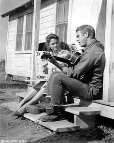 Lee Remick, Kimberly Block, Steve McQueen-- Baby the Rain Must Fall