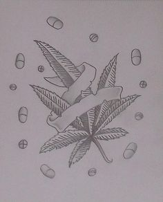 Weed drawing