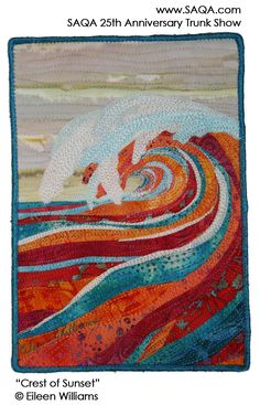 Art quilt by Eileen Williams